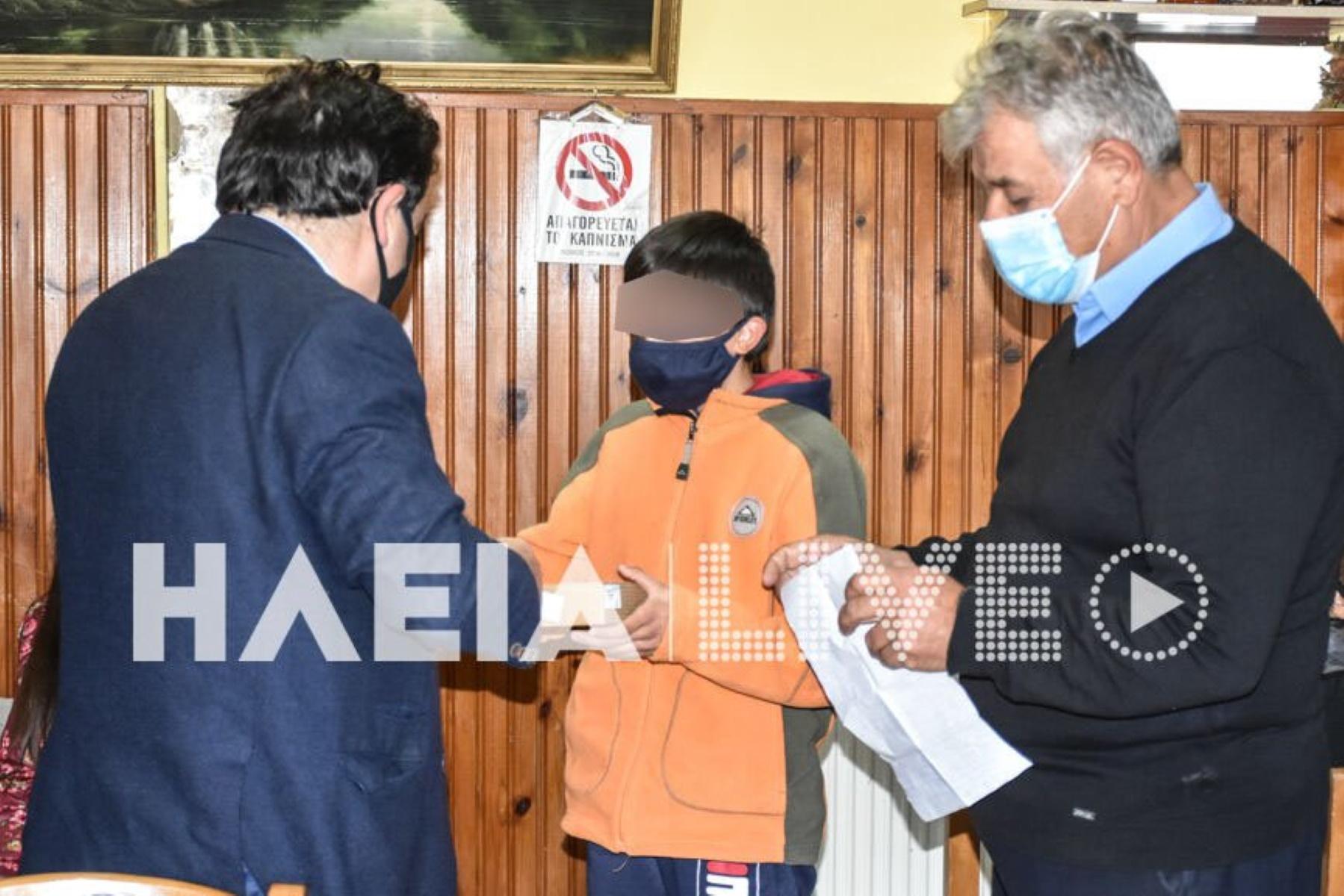 Πύργος: Τάμπλετ με σύνδεση στους μαθητές της Πεύκης μετά τον σάλο που προκλήθηκε