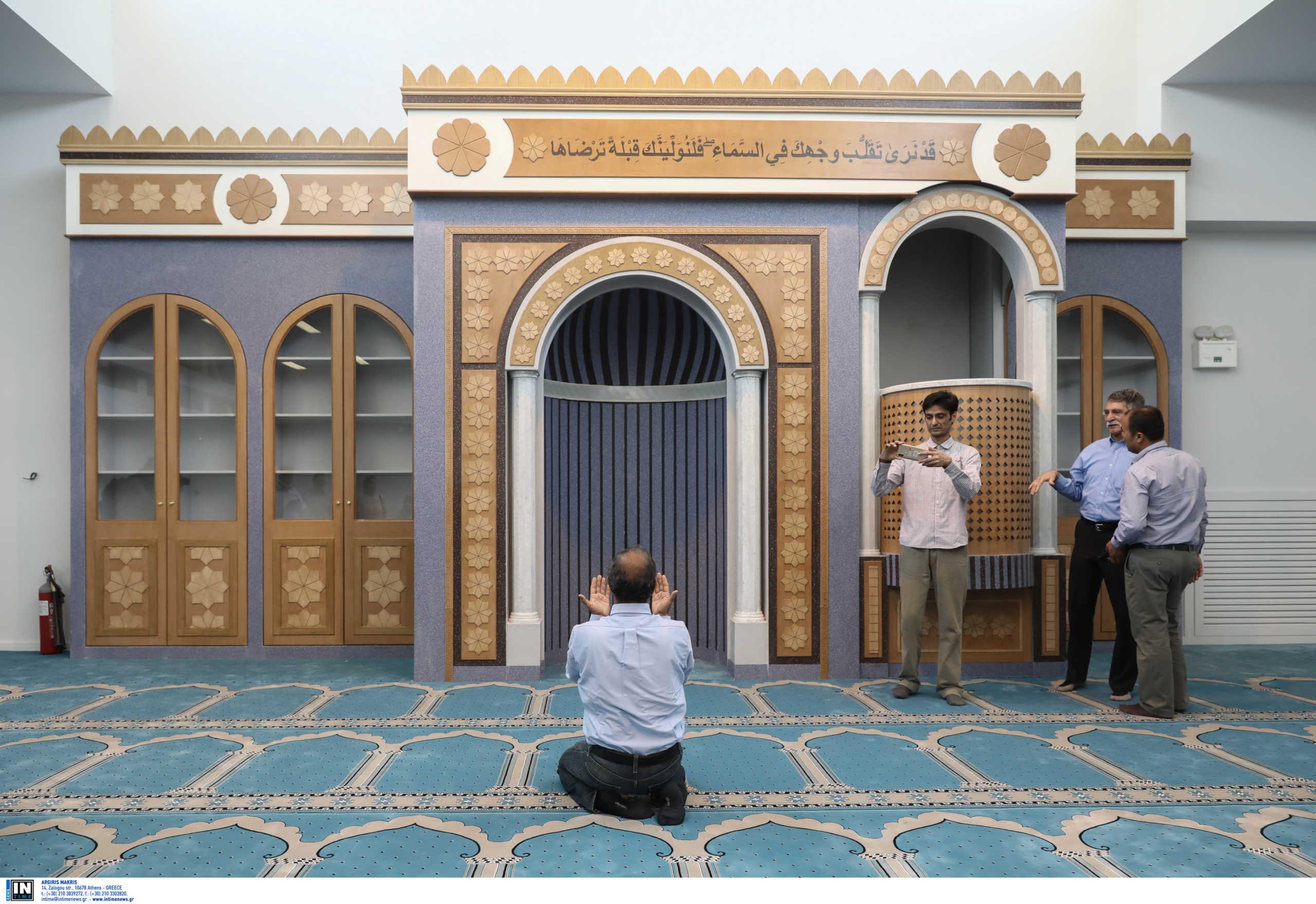 τζαμί στην Αθήνα