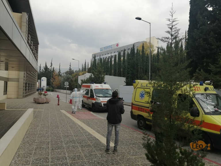 Θεσσαλονίκη: Μεταφέρθηκαν σε ιδιωτική κλινική οι πρώτοι ασθενείς με κορονοϊό (video)