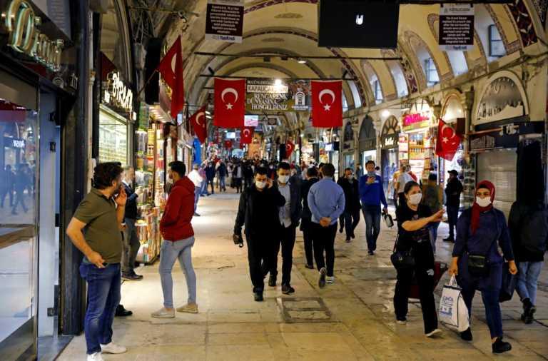 Τουρκία: Σοκ με τα κρούσματα κορονοϊού – Τα περισσότερα ημερήσια από τις 6 Ιανουαρίου