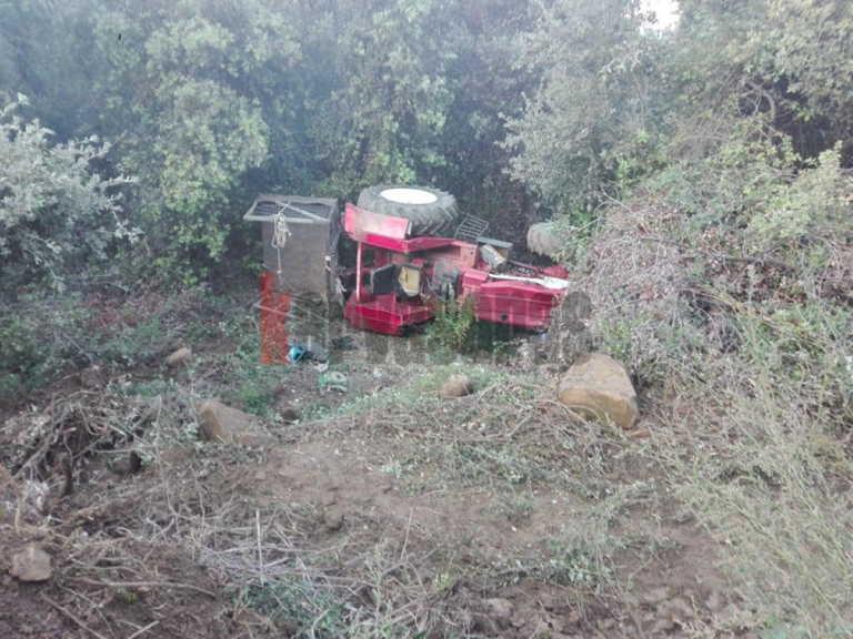 Ηράκλειο: Σκοτώθηκε αγρότης που καταπλακώθηκε από το τρακτέρ του!