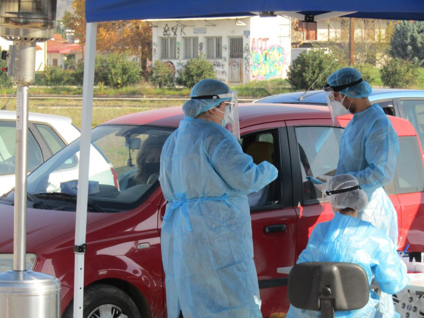 Κορονοϊός: 150 rapid test στα Τρίκαλα