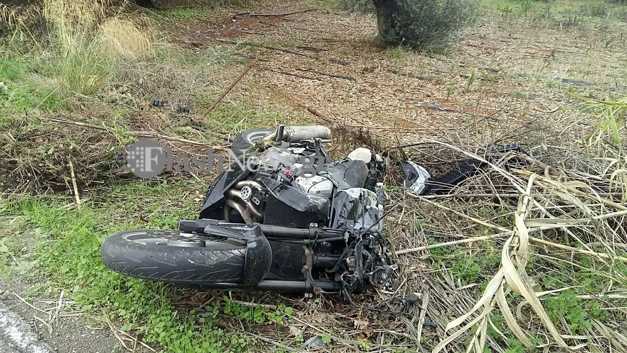 Τραγωδία στην άσφαλτο – Νεκρός 19χρονος με μηχανή στην Κρήτη