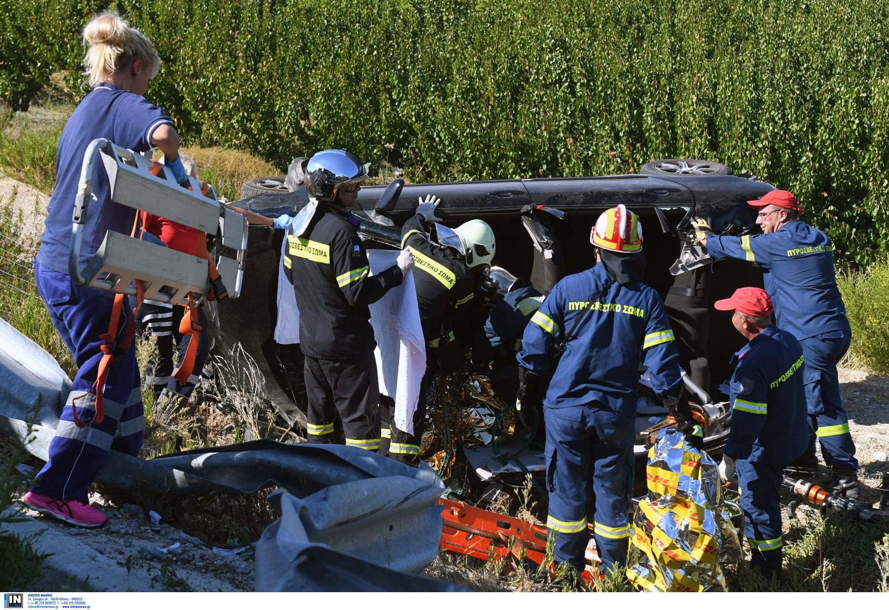 """Κρήτη: Τροχαία ατυχήματα ακόμη και με """"άδειους"""" δρόμους"""