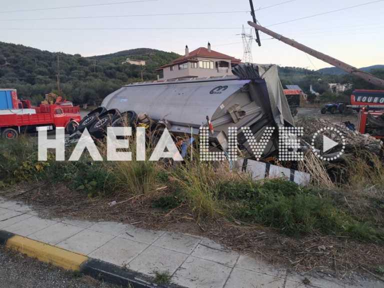 Ηλεία: Νεκρός ο οδηγός της νταλίκας που διαλύθηκε σε τροχαίο! Οδύνη για τον άτυχο 22χρονο (Φωτό)
