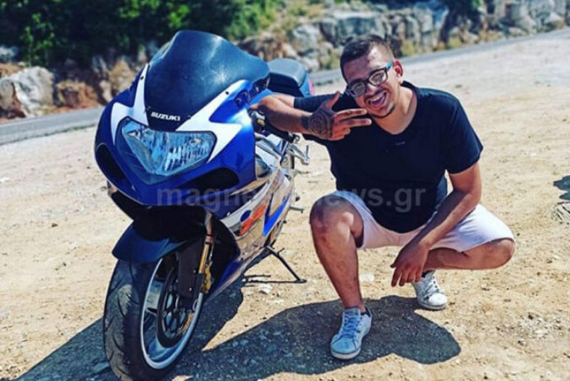 Μαγνησία: Σπαραγμός για νεαρό οδηγό μηχανής! Το τελευταίο απόγευμα με τους κολλητούς φίλους και το φοβερό τροχαίο
