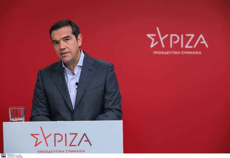 ΣΥΡΙΖΑ: Θλιβερή η κατάσταση στην Ελλάδα με τους θανάτους από κορονοϊό – Στην Δράμα ο Τσίπρας