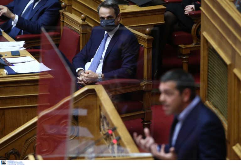 Βουλή: Το ανέκδοτο Τσίπρα και η απάντηση Μητσοτάκη