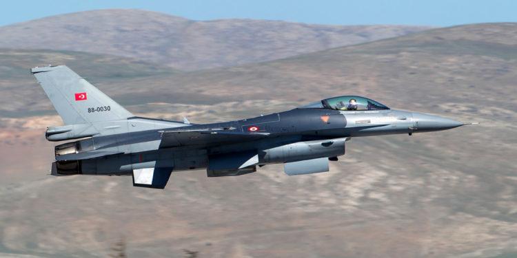 Διπλές υπερπτήσεις τουρκικών μαχητικών αεροσκαφών πάνω από το Αγαθονήσι!