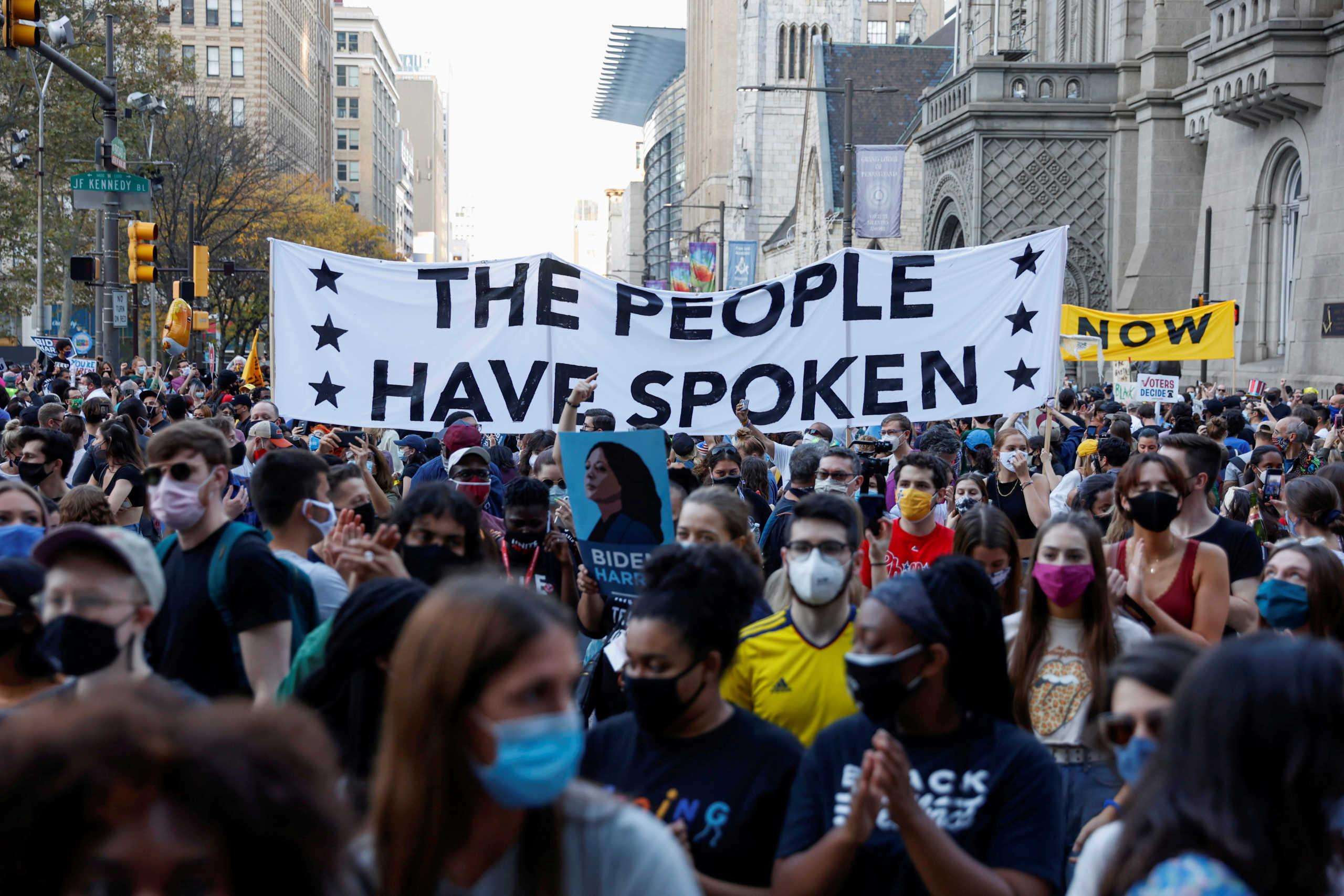 διαδηλώσεις αμερικανικές εκλογές