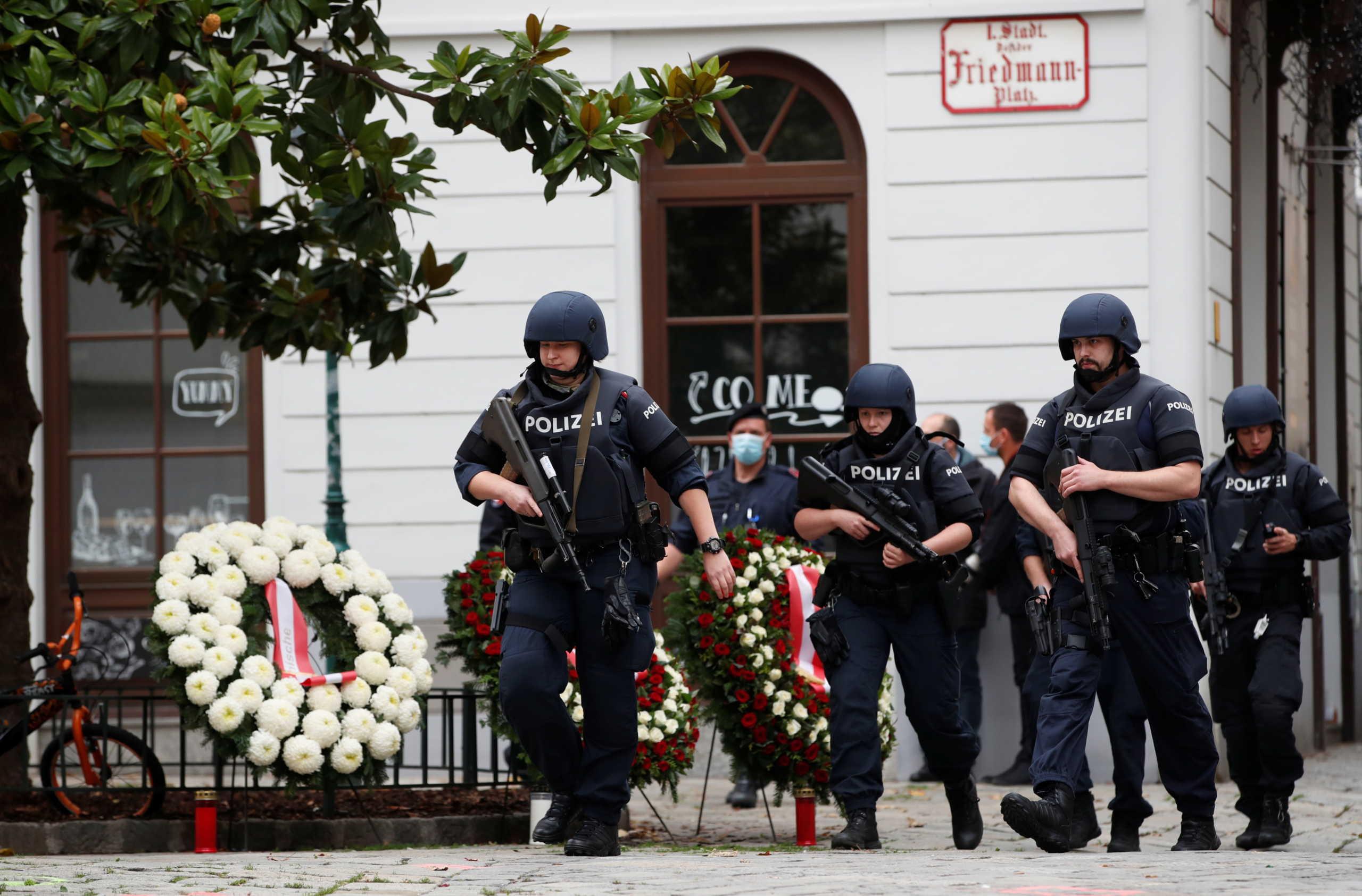 Γερμανία: Έρευνες σε σπίτια 4 υπόπτων για την επίθεση στη Βιέννη