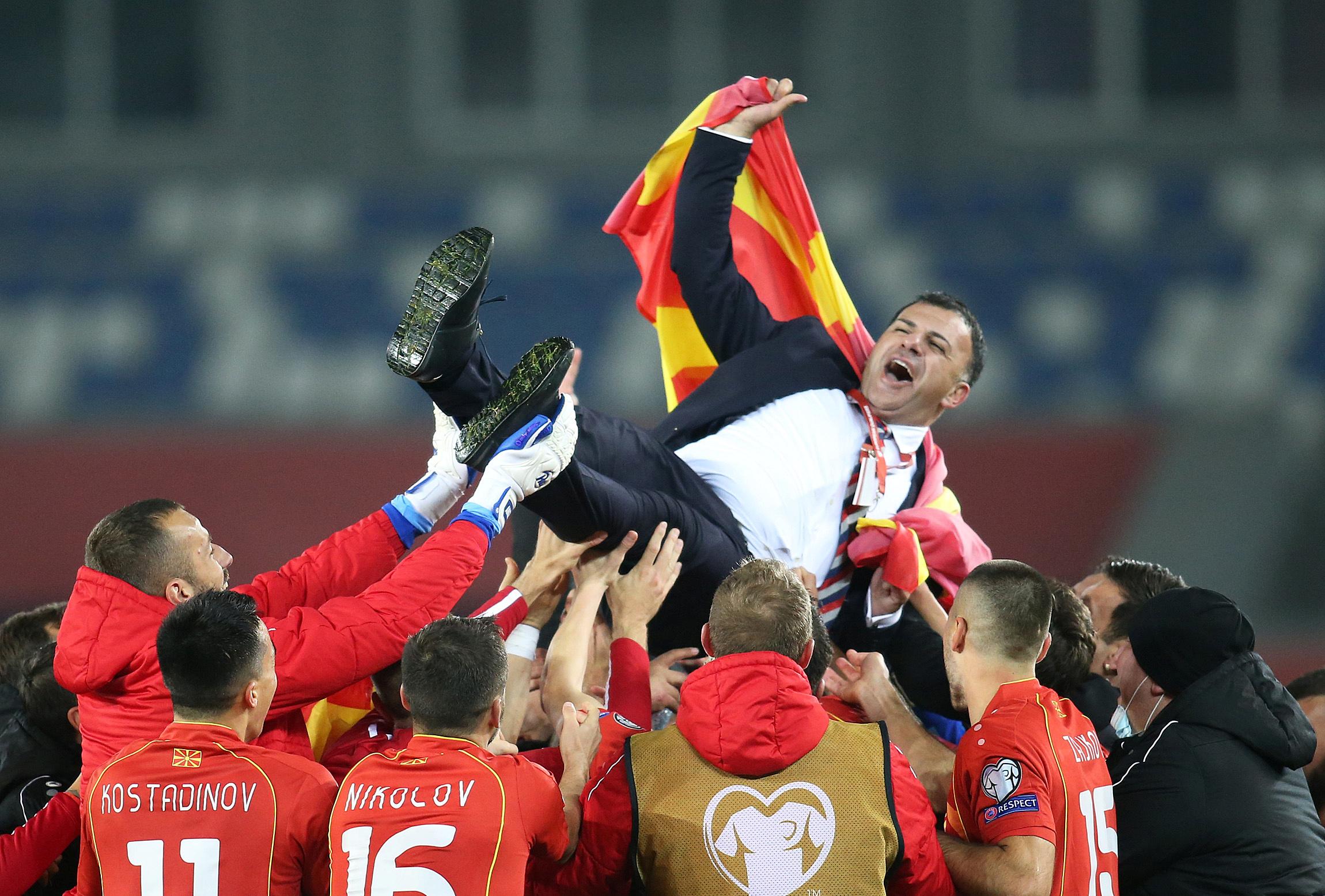 Βόρεια Μακεδονία προκρίθηκε στα τελικά του Euro