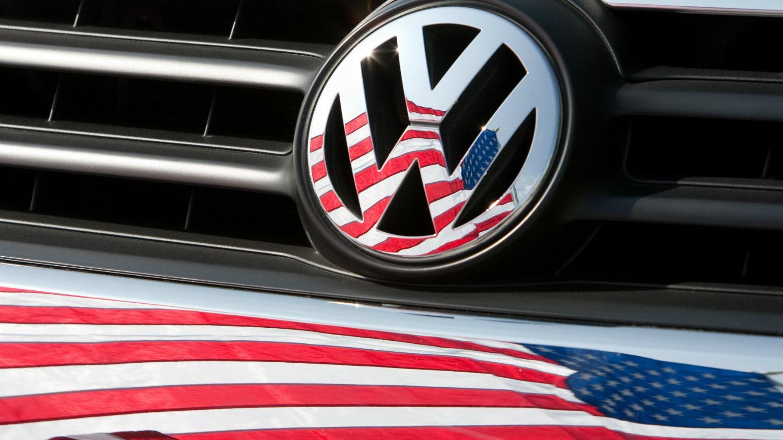 αμερικάνικη σημαία Volkswagen
