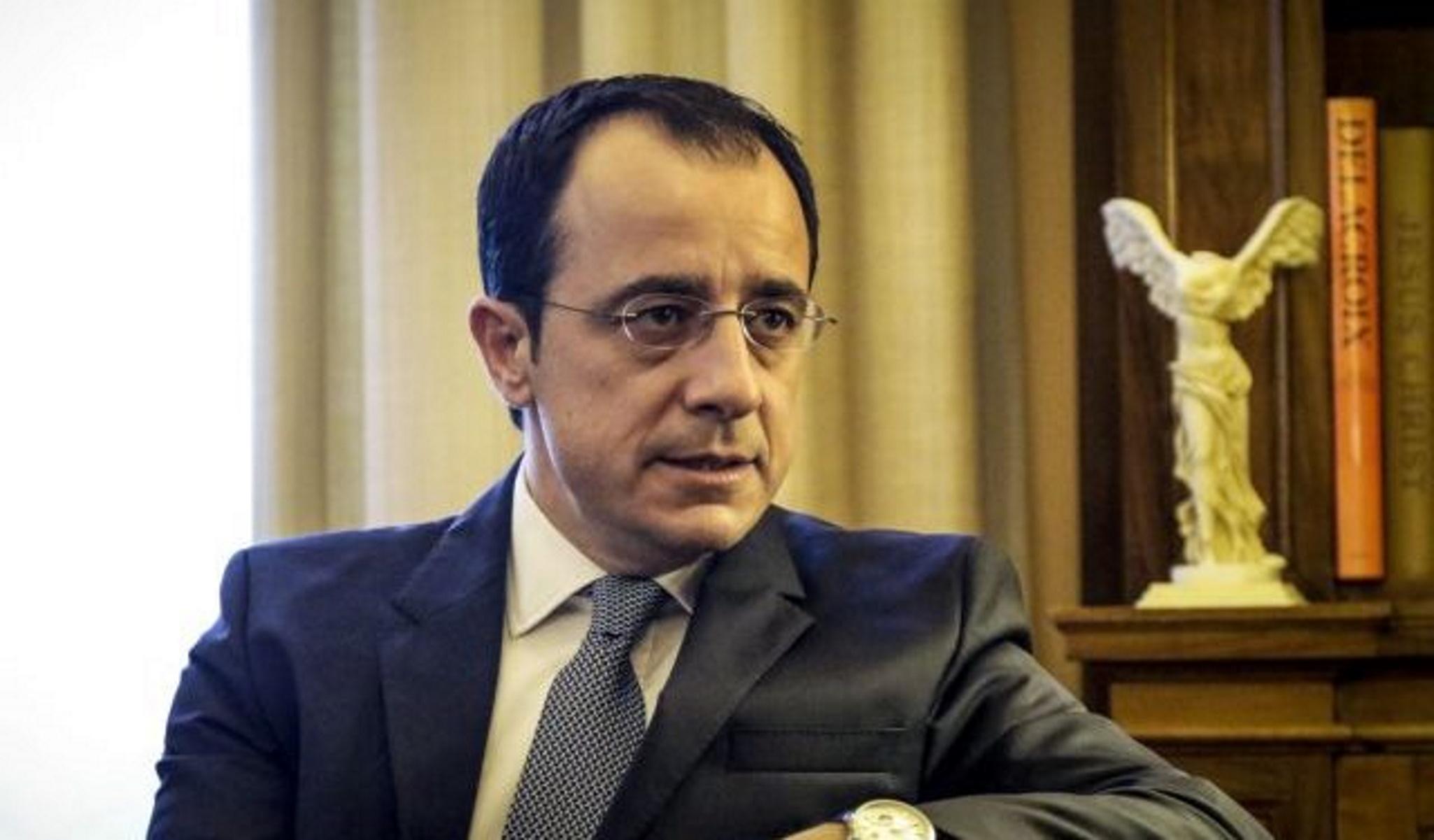 """""""Βόμβα"""" Χριστοδουλίδη για Κυπριακό: """"Ανησυχώ για προσάρτηση των Κατεχομένων από την Τουρκία"""""""