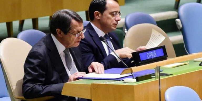 Προειδοποιεί ο Χριστοδουλίδης: Η Τουρκία με αμείωτη ένταση θέλει να δημιουργήσει νέα τετελεσμένα!