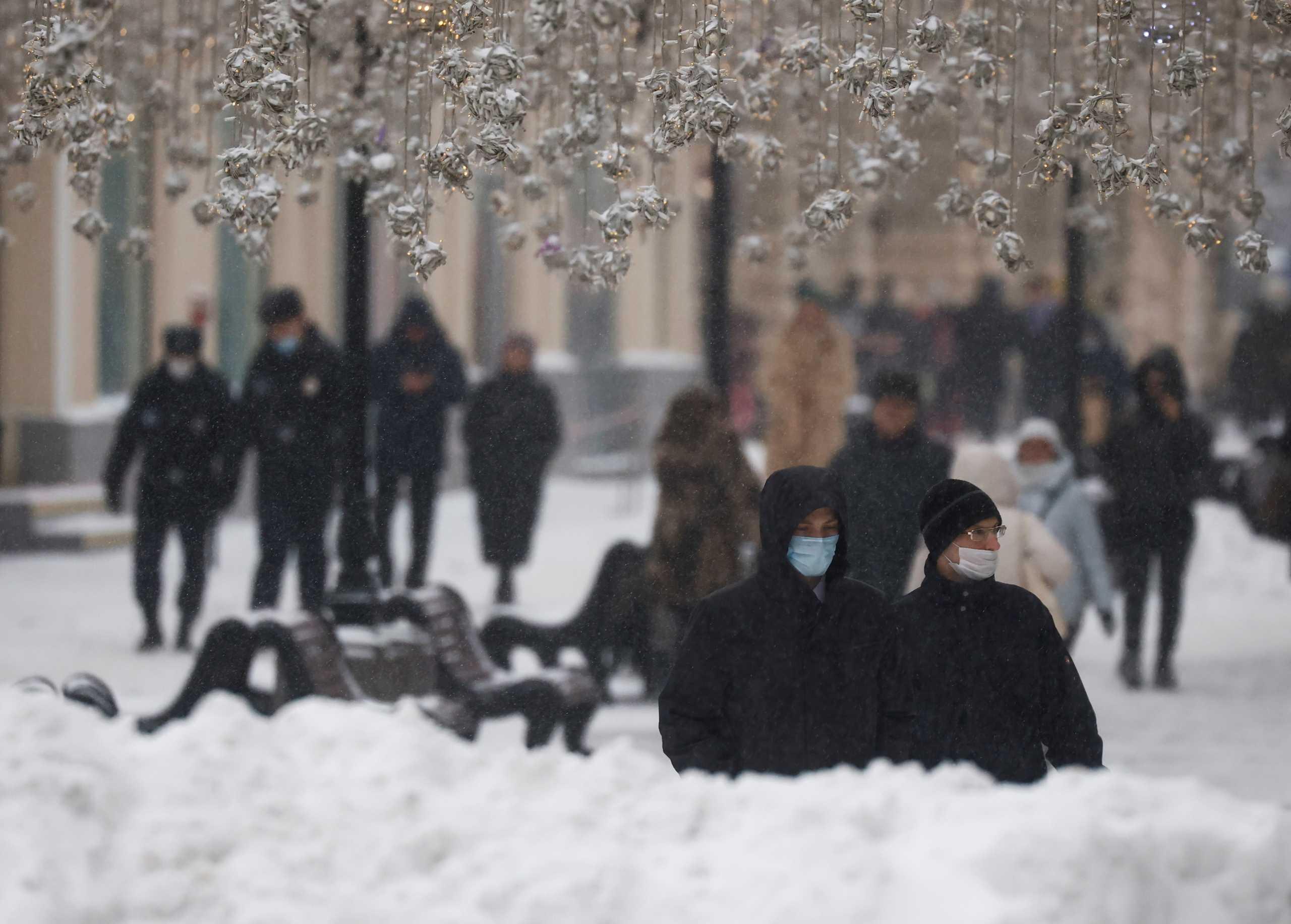 Μόσχα: Κλειστά τα σχολεία έως τις 17 Ιανουαρίου και βάλε λόγω κορονοϊού