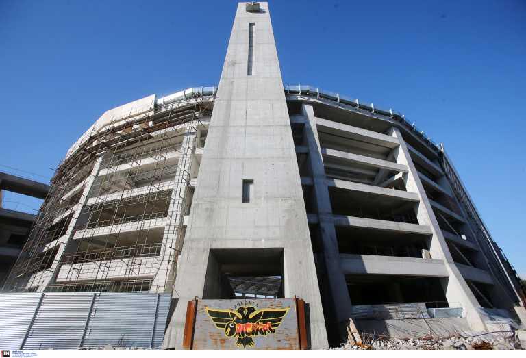 ΑΕΚ: Τα δύο κτίρια της «Αγιά Σοφιάς» ψηλώνουν και η Ένωση καλεί τον κόσμο να τα ονομάσει (pics)