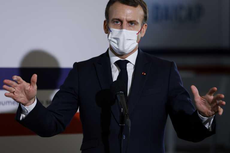 Γαλλία – Μακρόν: Κάντε υπομονή 4 έως 6 εβδομάδες για τη χαλάρωση των μέτρων