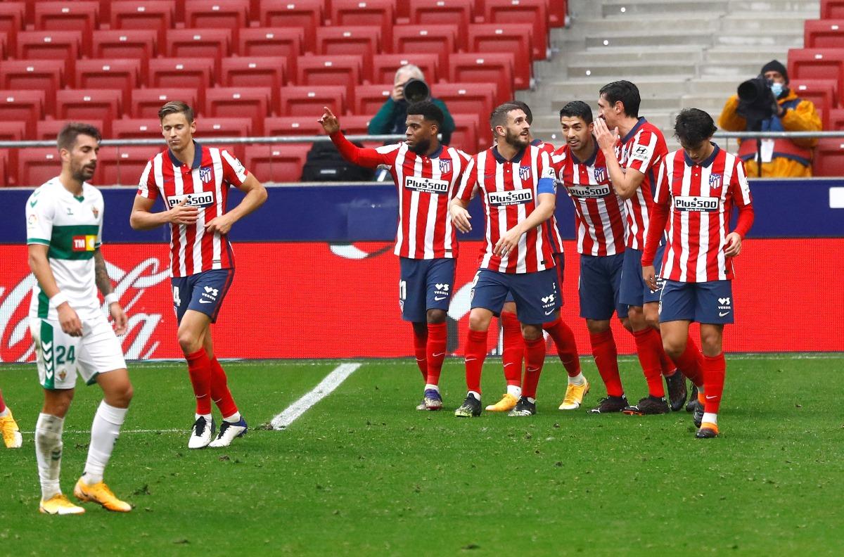 Ο Σουάρες «επέστρεψε» και κράτησε την Ατλέτικο στην κορυφή της La Liga (video)