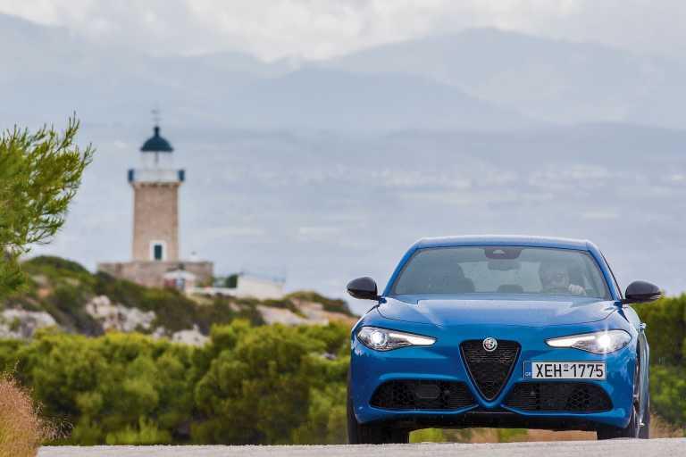 Δοκιμάζουμε την Alfa Romeo Giulia Veloce Ti των 280 PS