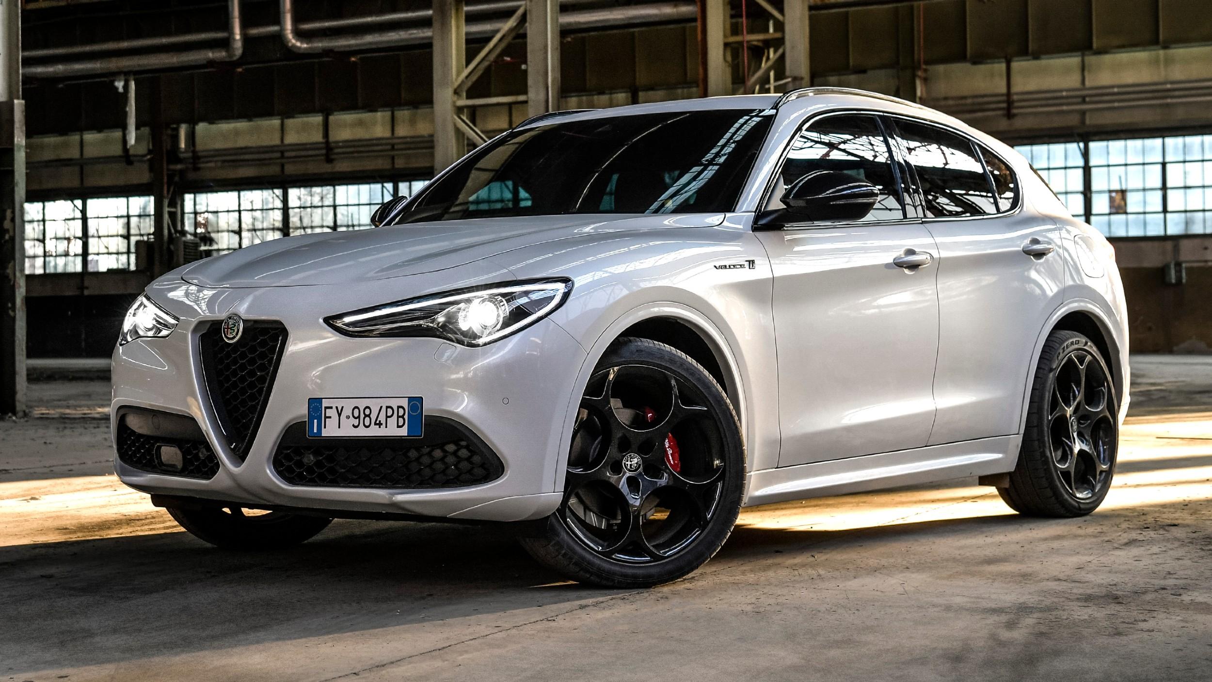 Νέα Alfa Romeo Stelvio Veloce Ti [vid]