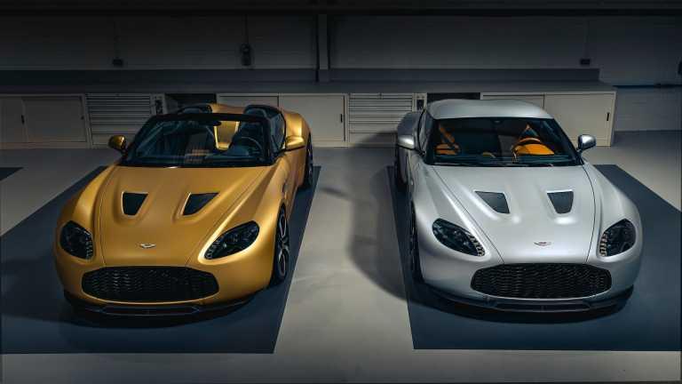 Ποιος αγόρασε το πρώτο σετ των Aston Martin Vantage V12 Zagato;
