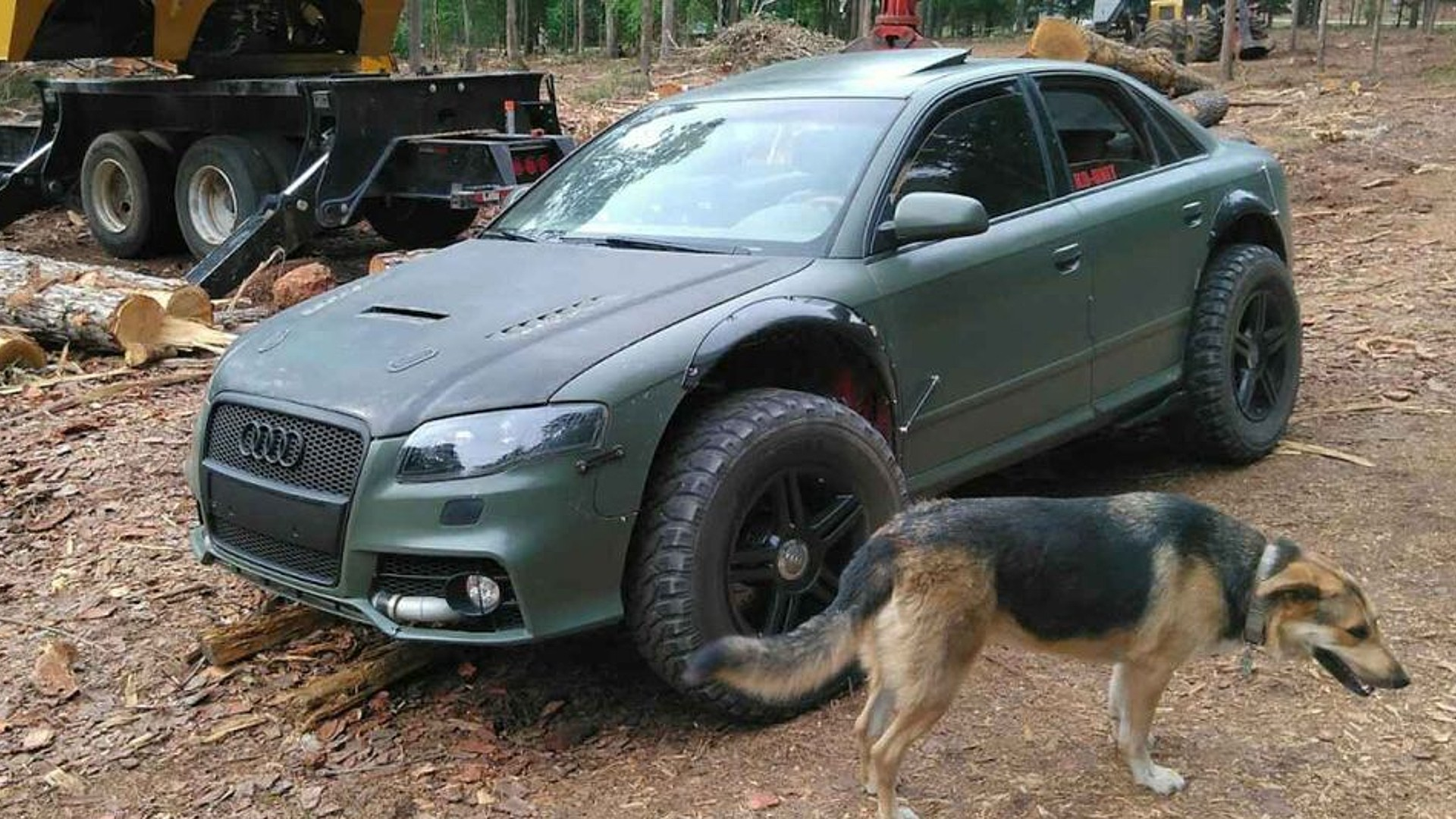 Ένα Audi A4 διαφορετικό από τα άλλα
