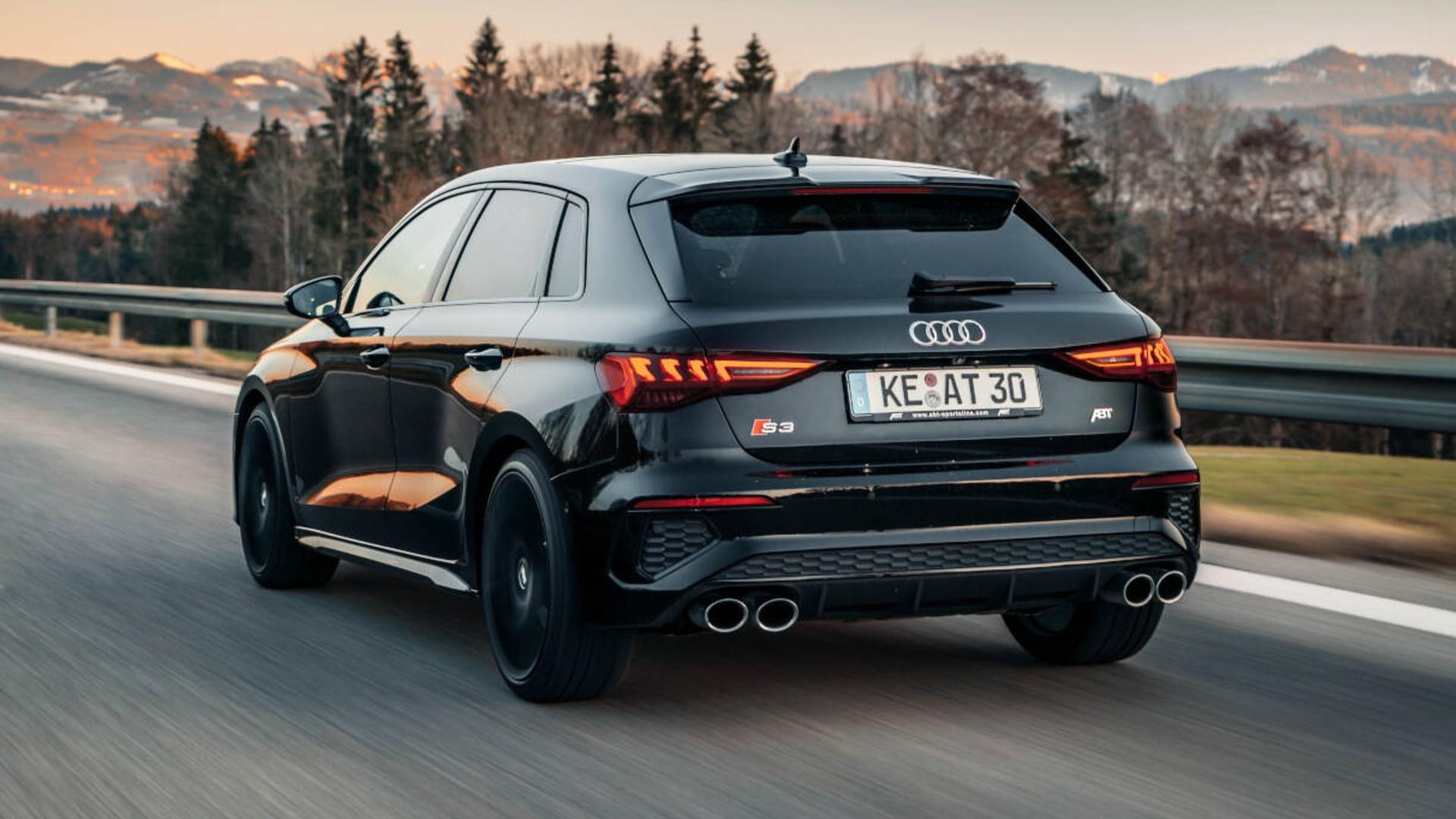 Βελτιωμένο Audi S3 Sportback από την ΑΒΤ [vid]