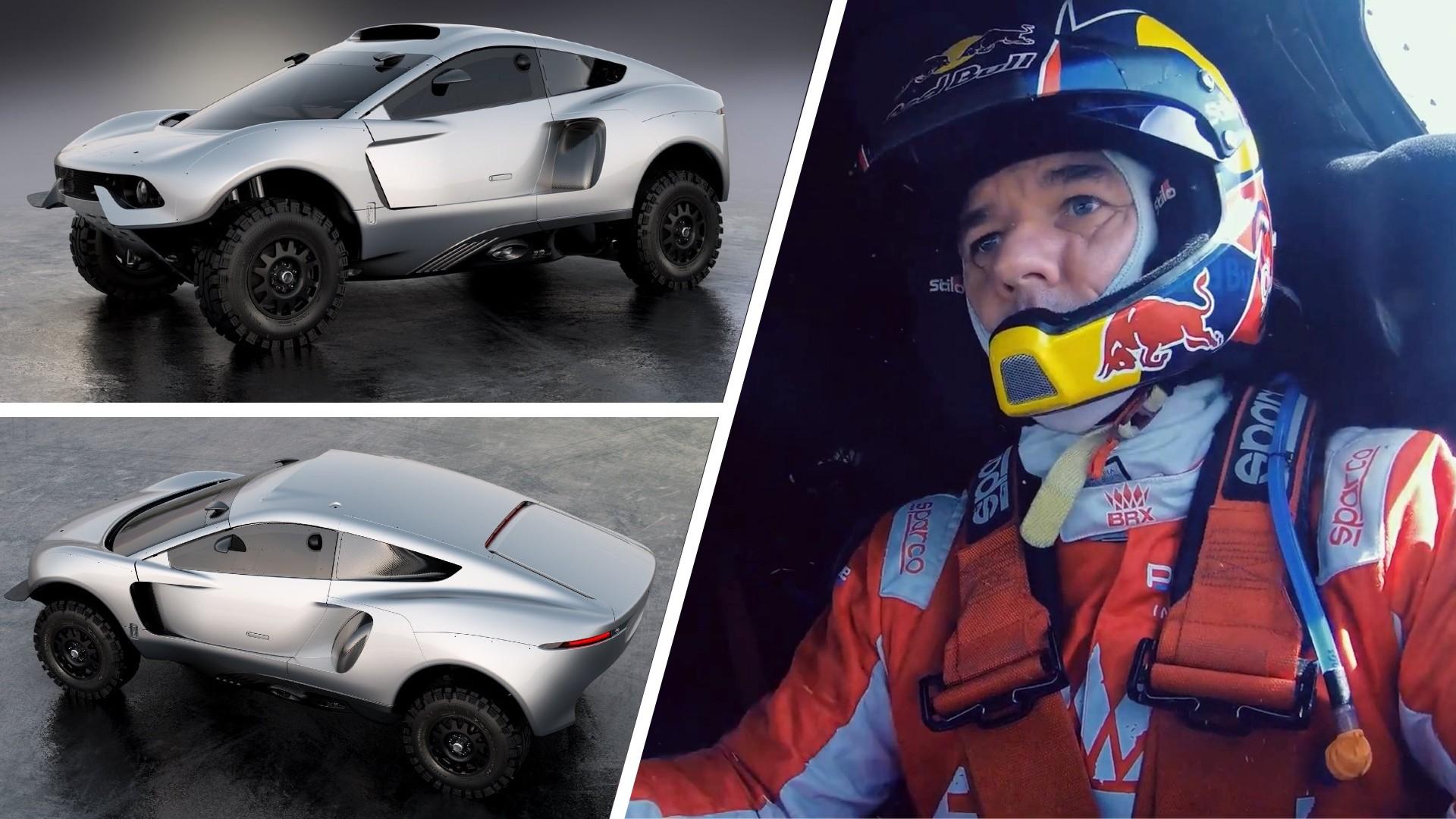 Αυτό το όχημα θα οδηγήσει ο Sébastien Loeb στο Dakar [vid]