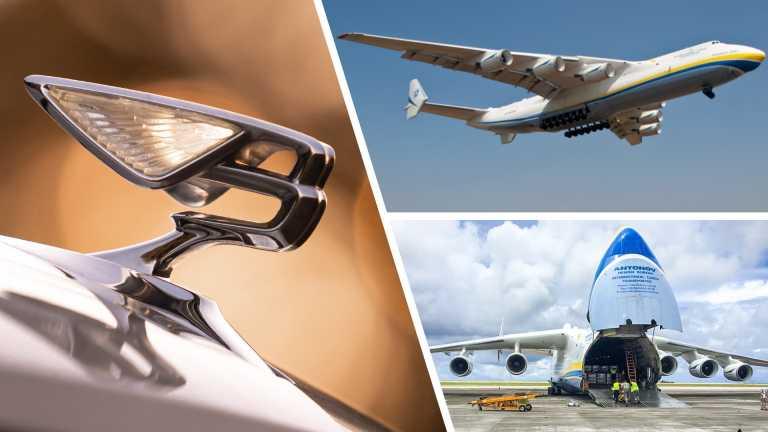 Γιατί η Bentley νοίκιασε πέντε αεροσκάφη Antonov;