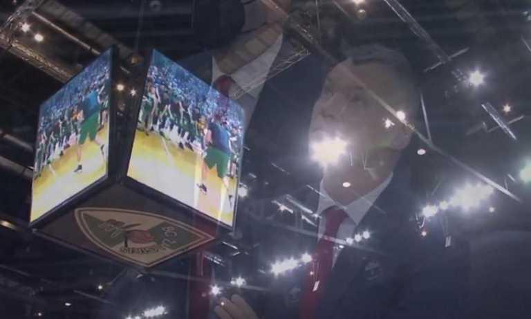 Δακρυσμένος ο Γιασικεβίτσιους με το video-αφιέρωμα της Ζαλγκίρις στην επιστροφή του!