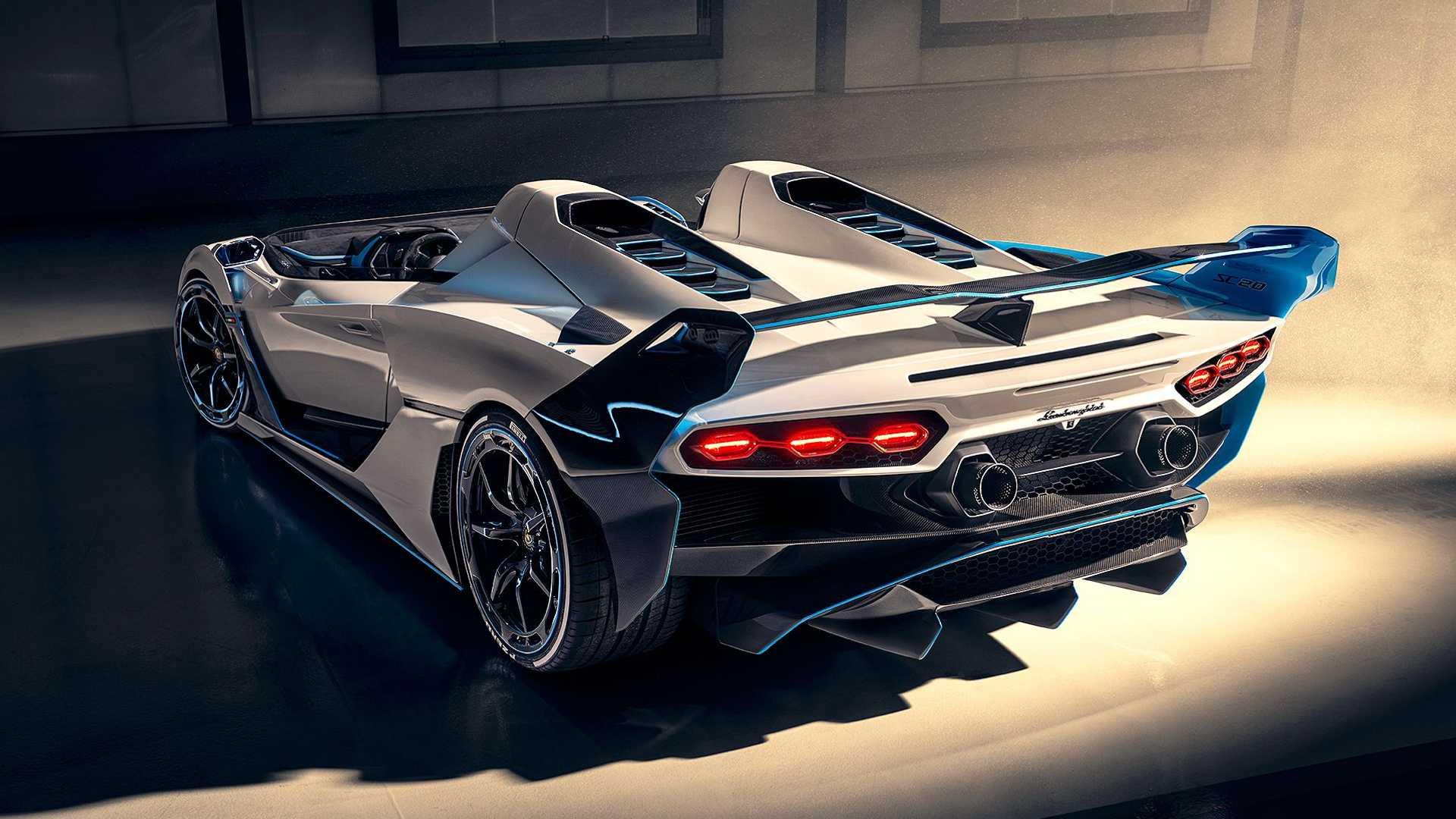 Lamborghini SC20: Μοναδικό υπεραυτοκίνητο χωρίς οροφή [vid]
