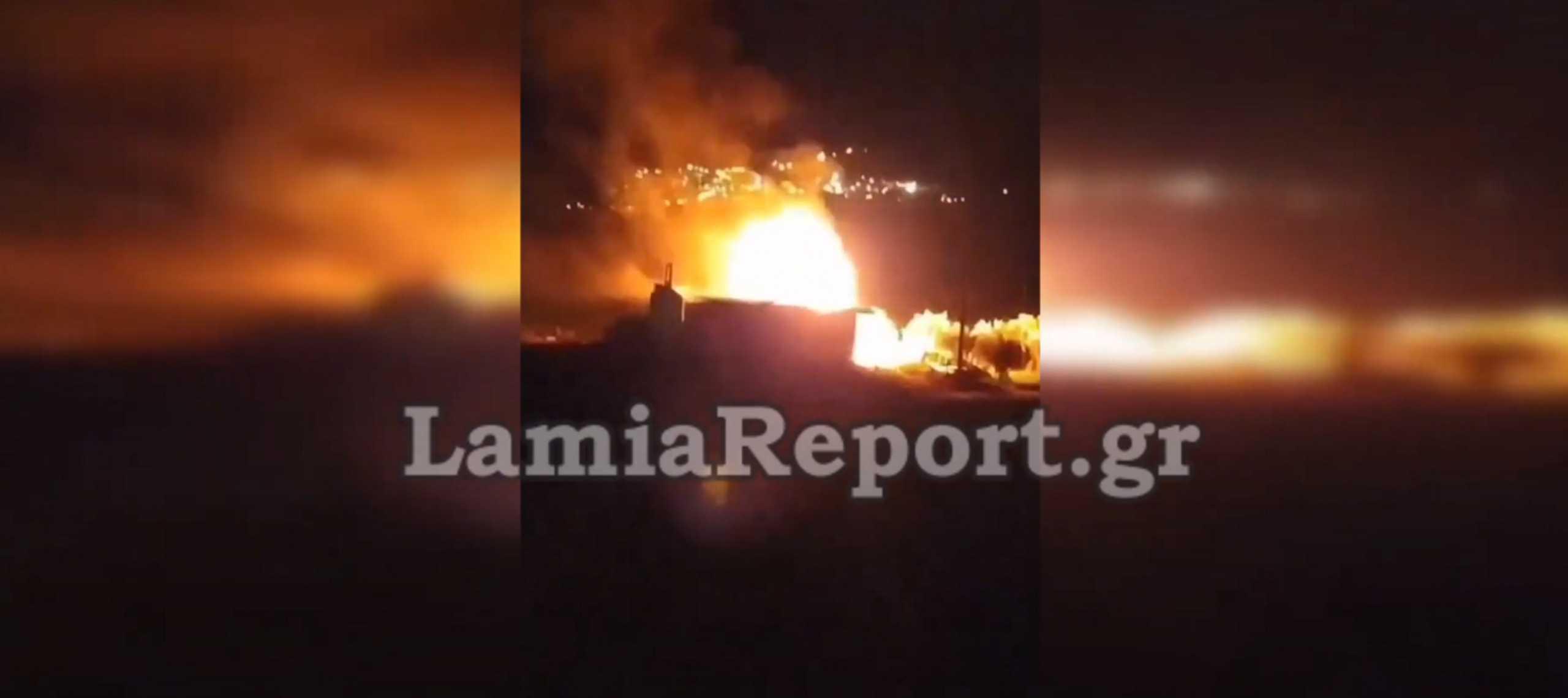 Λαμία: Παραλίγο νέα τραγωδία στην αποθήκη με τις φιάλες υγραερίου – Σοκαριστικές μαρτυρίες (pics, video)
