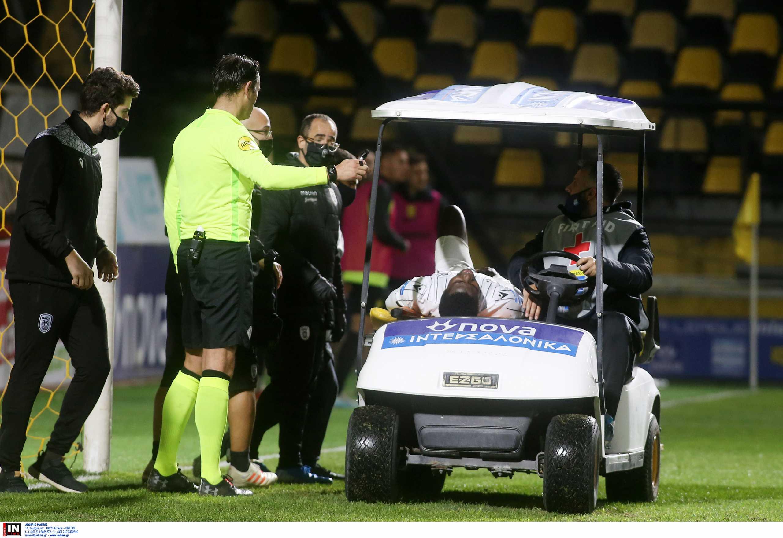 ΠΑΟΚ: Σοκαρισμένος ο γιατρός της ομάδας με τον τραυματισμό του Ουαγκέ – «Δεν το έχω δει ξανά αυτό»