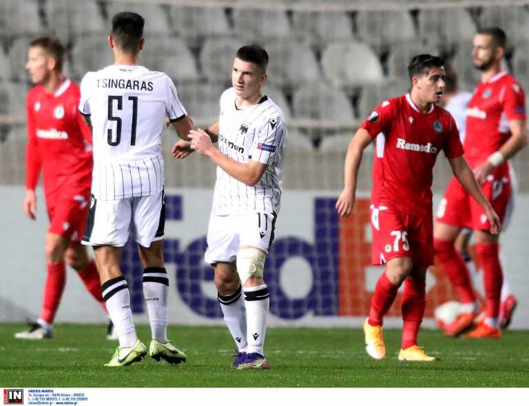 Ομόνοια – ΠΑΟΚ 2-1 ΤΕΛΙΚΟ: Έμεινε εκτός συνέχειας στο Europa League
