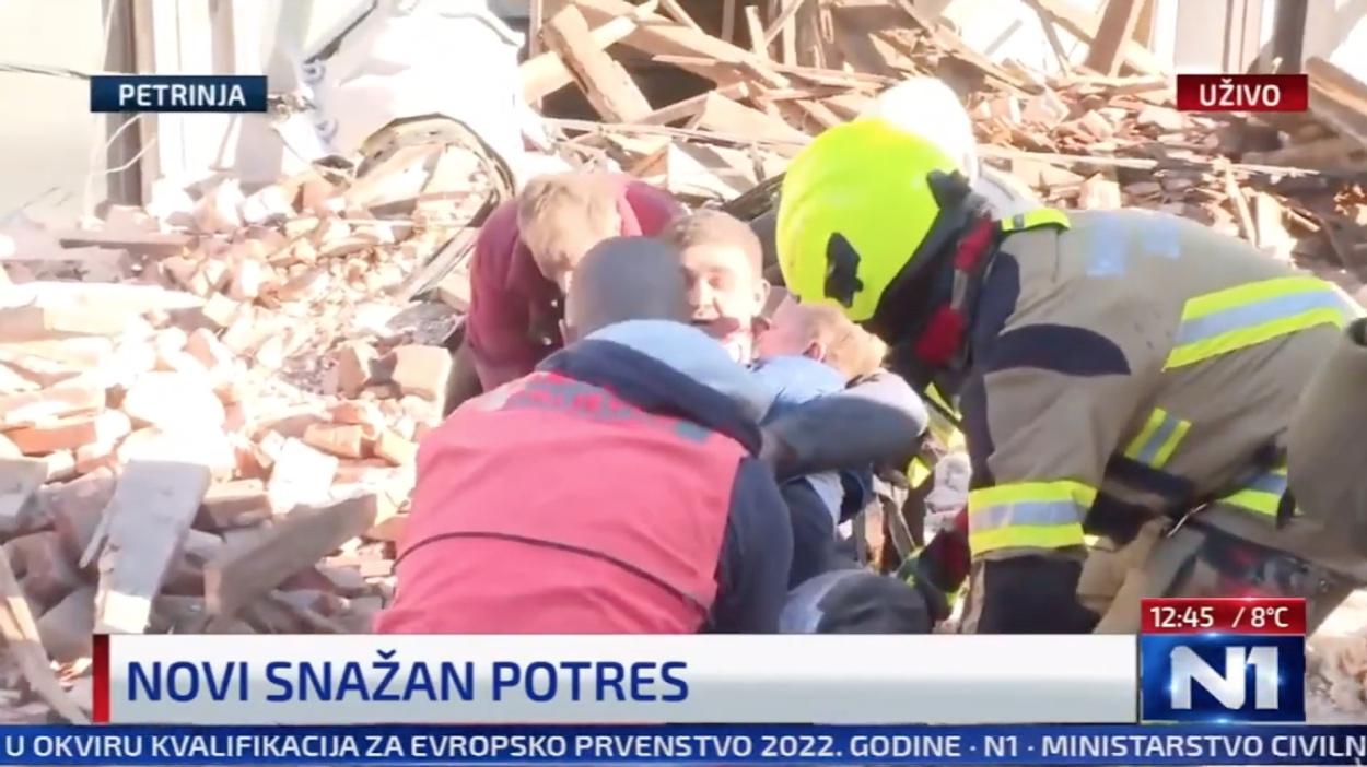 Κροατία: Ισχυρός σεισμός 6,3 Ρίχτερ κοντά στο Ζάγκρεμπ – Αναφορές για καταστροφές