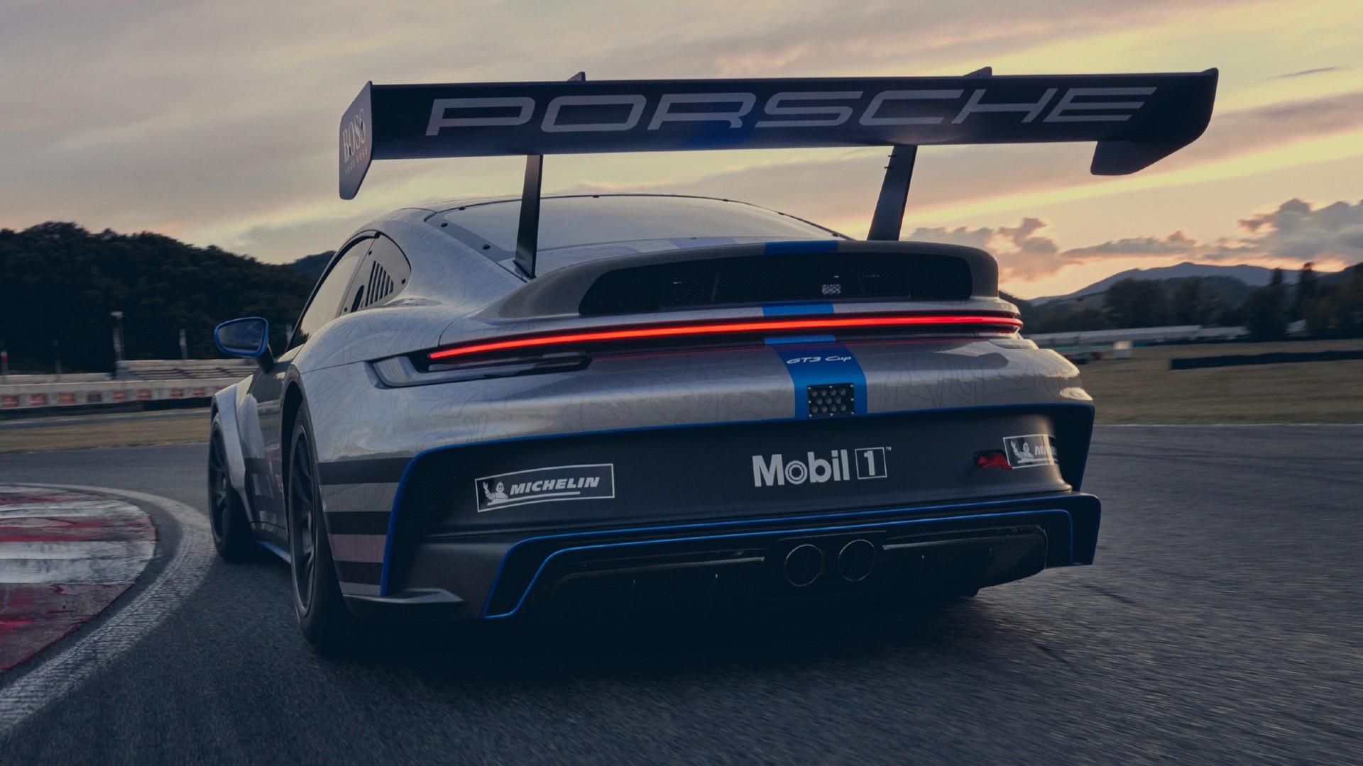 Ακούστε τον ήχο της νέας Porsche 911 GT3 Cup [vid]