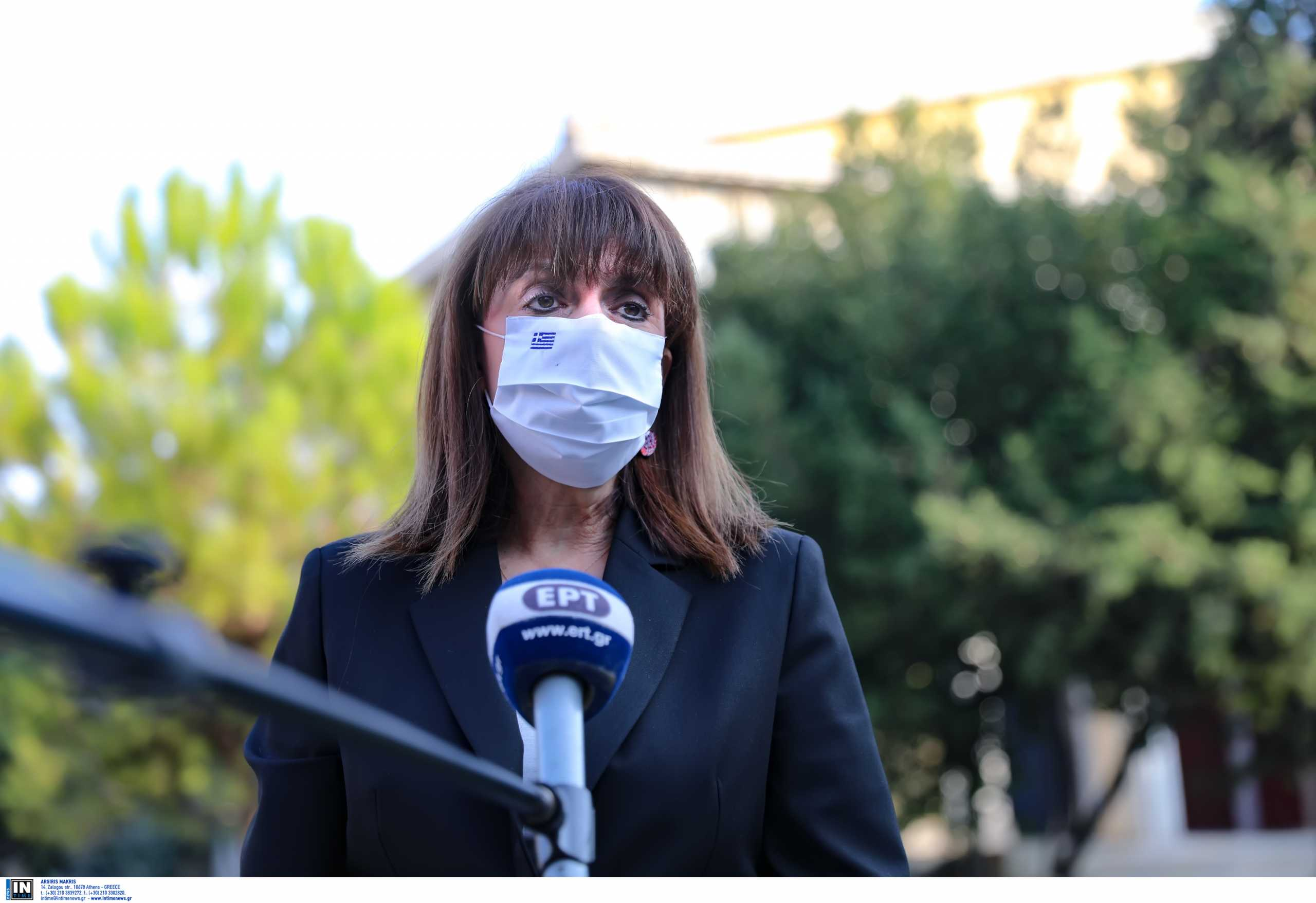 Κατερίνα Σακελλαροπούλου: Έτος ελπίδας και ανάκαμψης το 2021 – Τι λέει στο Πρωτοχρονιάτικο μήνυμά της