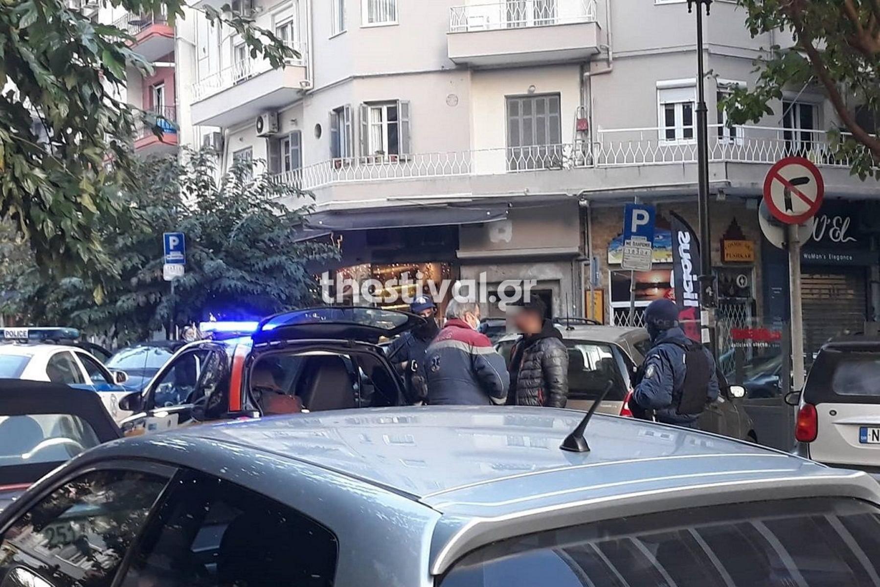 Θεσσαλονίκη: Πήγε να κάνει διάρρηξη και τον έδειραν περαστικοί (pics)
