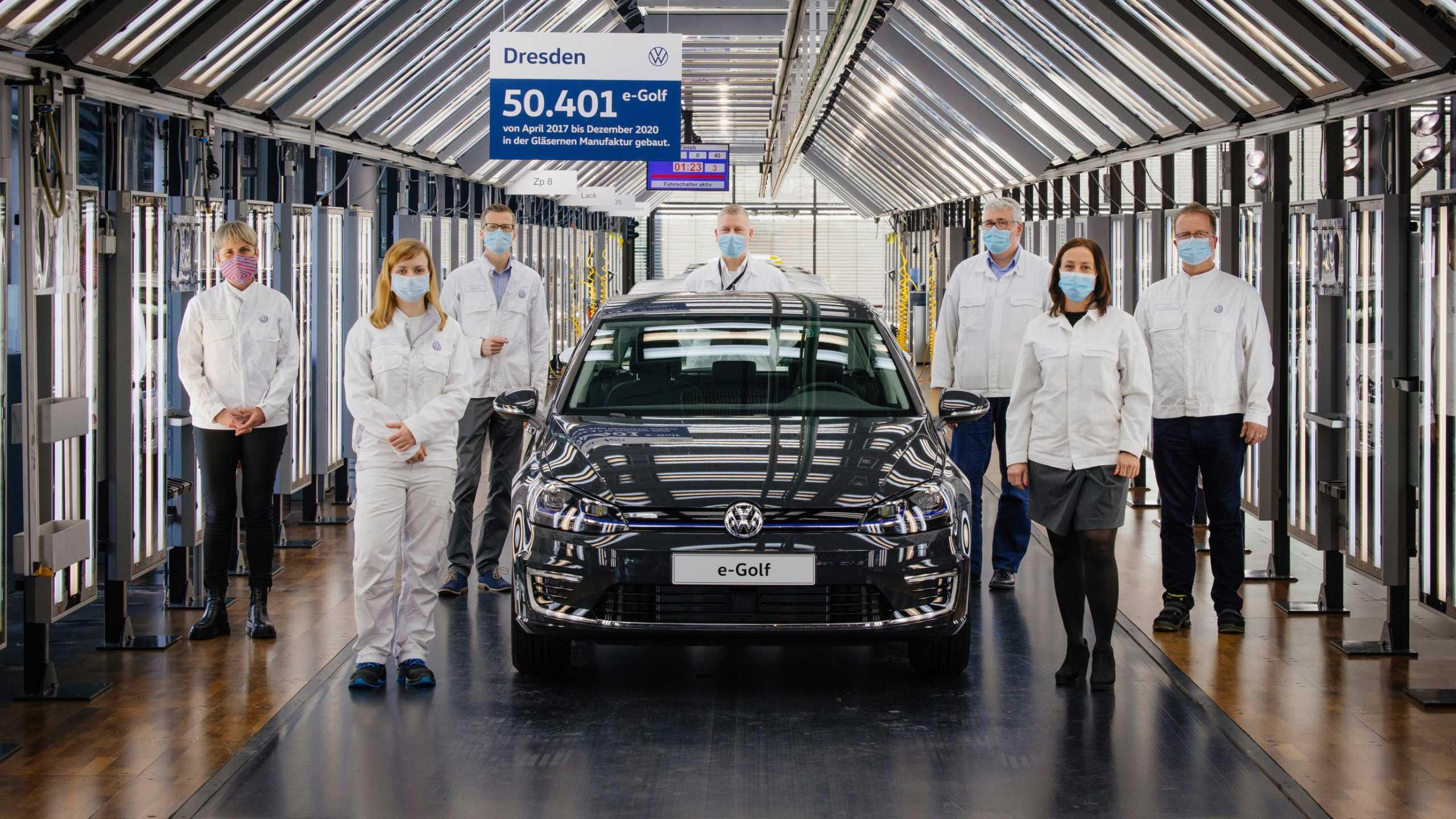 Ολοκληρώθηκε η παραγωγή του Volkswagen e-Golf [vid]