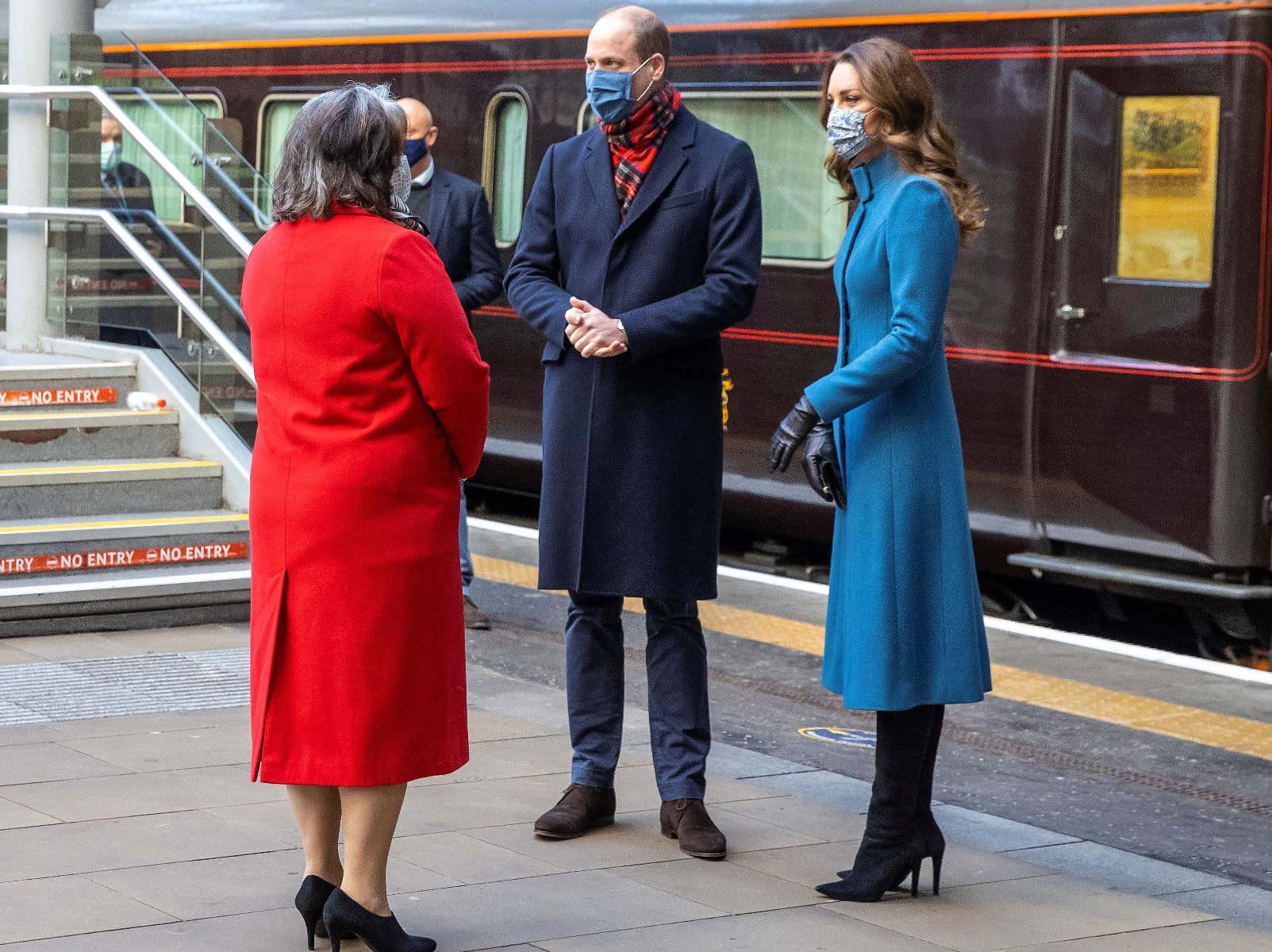Κορονοϊός: Ουίλιαμ και Κέιτ σε περιοδεία με τρένο για τη στήριξη του προσωπικού πρώτης γραμμής