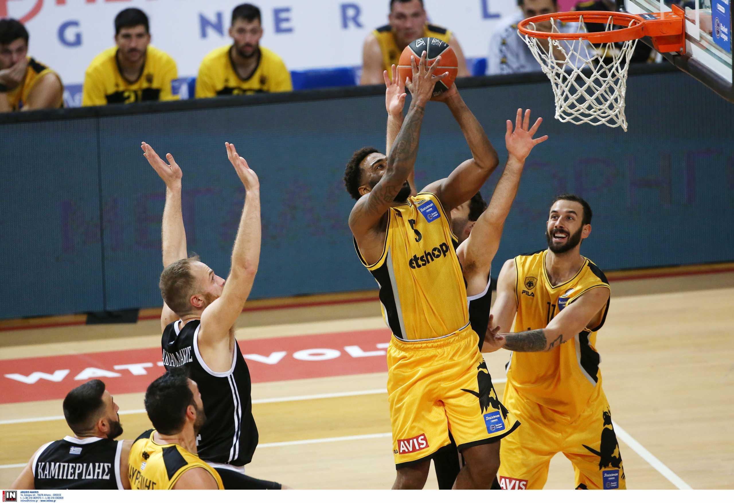 """Basket League: Στην ΑΕΚ το ντέρμπι των """"Δικεφάλων""""! Ο Άρης """"σκότωσε"""" τον Προμηθέα (videos)"""