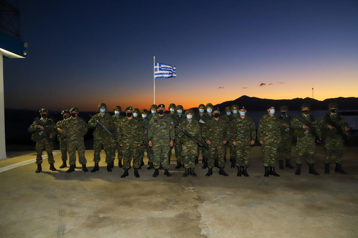 Α/ΓΕΕΘΑ: Περιοδεία Στρατηγού Φλώρου σε Κρήτη, Καστελόριζο και ακριτικά νησιά του Αιγαίου! [pics]