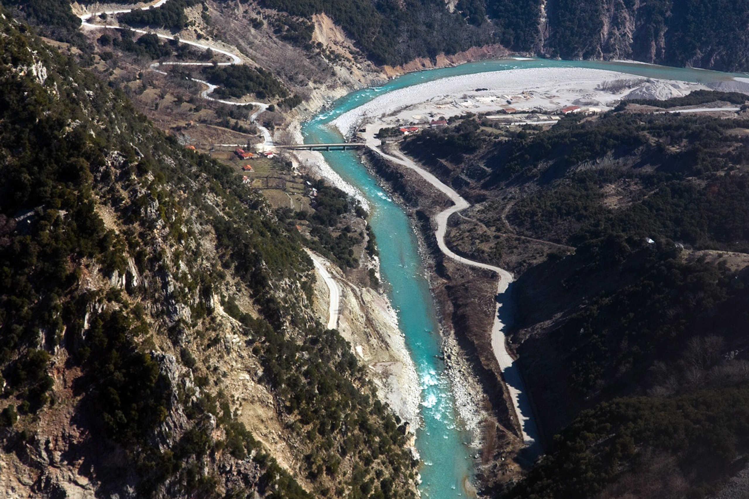 """ΣτΕ: """"Όχι"""" στην εκτροπή του Αχελώου ποταμού"""