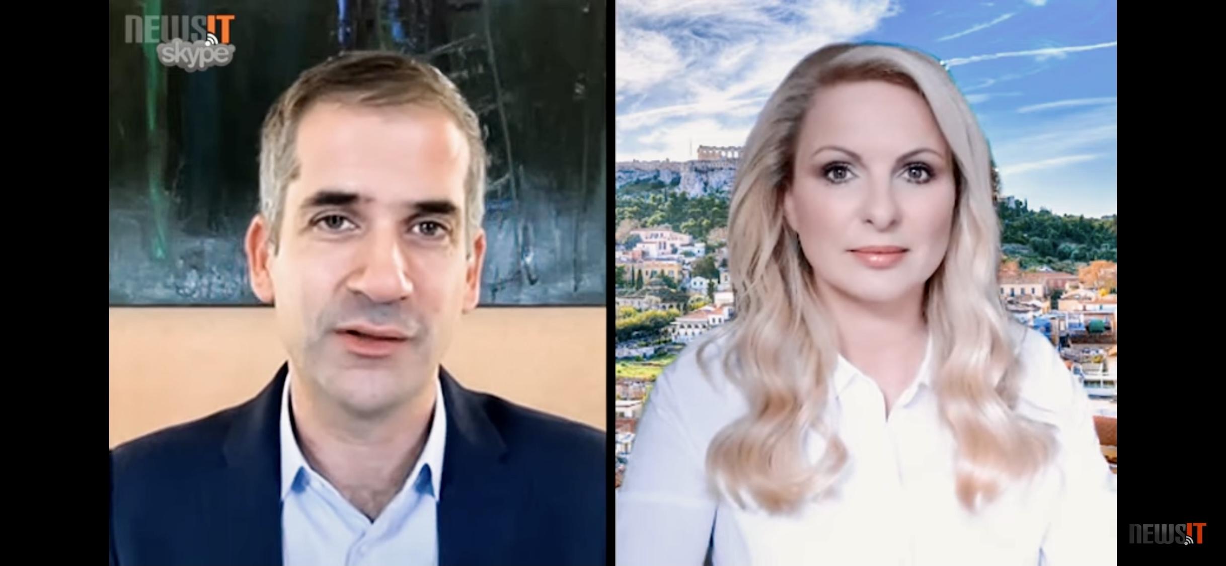 Μπακογιάννης στο newsit.gr: Οι στόχοι για το 2021, ο Μεγάλος Περίπατος και ο απολογισμός των 15 μηνών