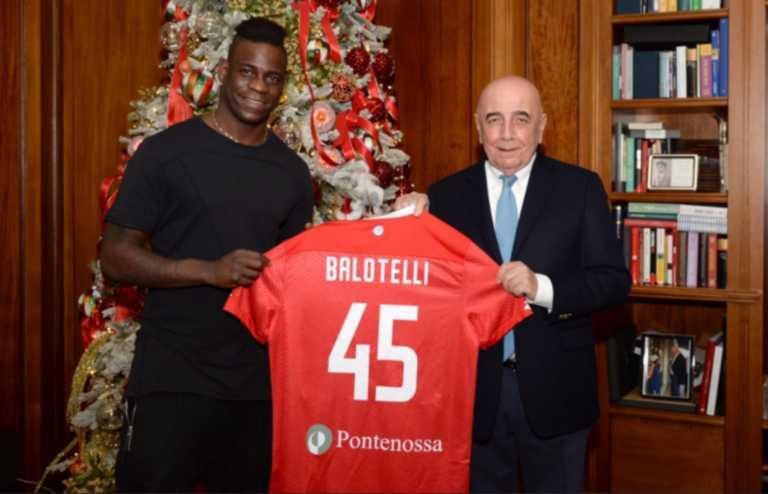Ντεμπούτο με γκολ για τον Μπαλοτέλι στην ομάδα του Μπερλουσκόνι (video)