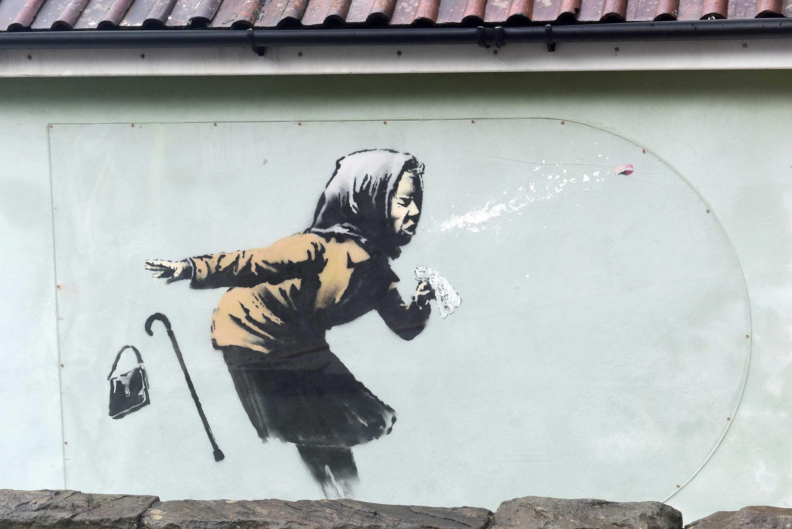 Γιατί καθυστέρησε η πώληση του σπιτιού με το τελευταίο έργο του Banksy