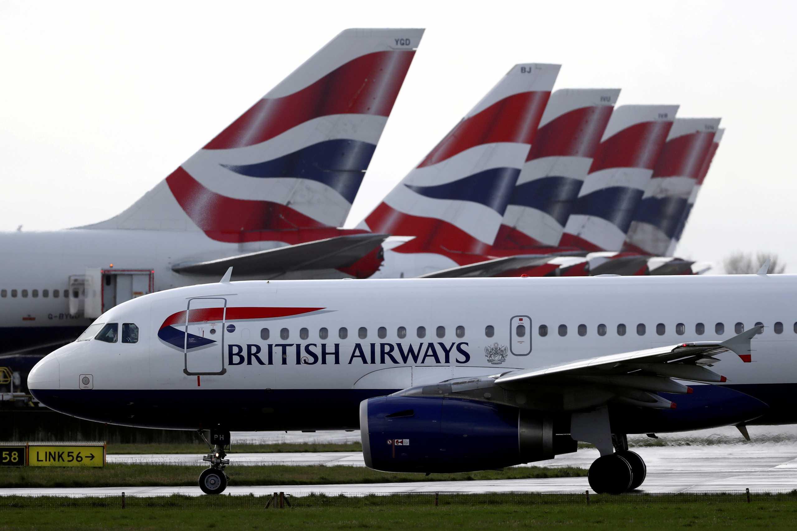 British Airways: Χωρίς περιορισμούς τα ταξίδια σε όσους έχουν εμβολιαστεί ή έχουν αρνητικό τεστ κορονοϊού