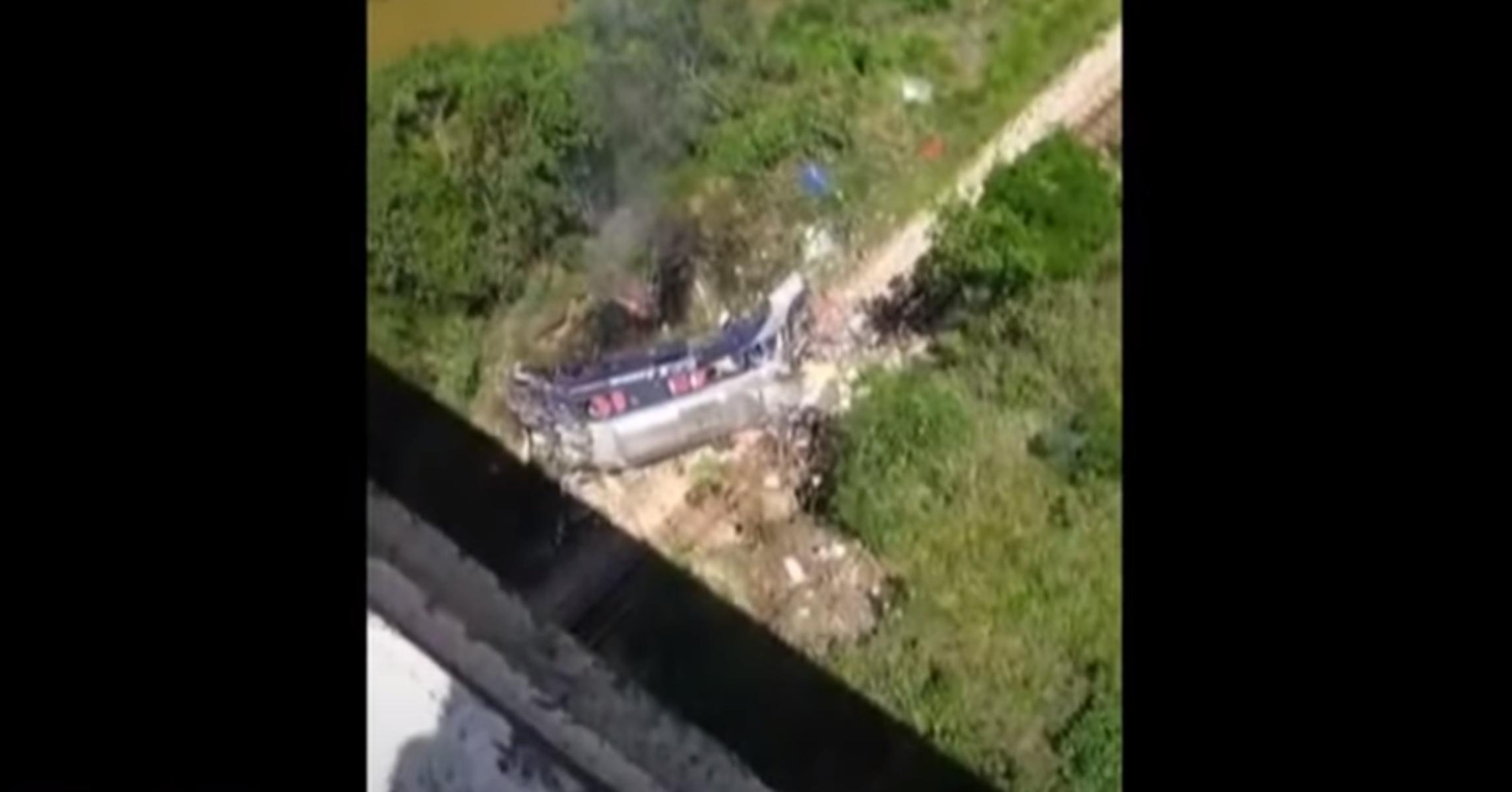Φρικτό δυστύχημα στη Βραζιλία – 10 νεκροί μετά από πτώση λεωφορείου από γέφυρα