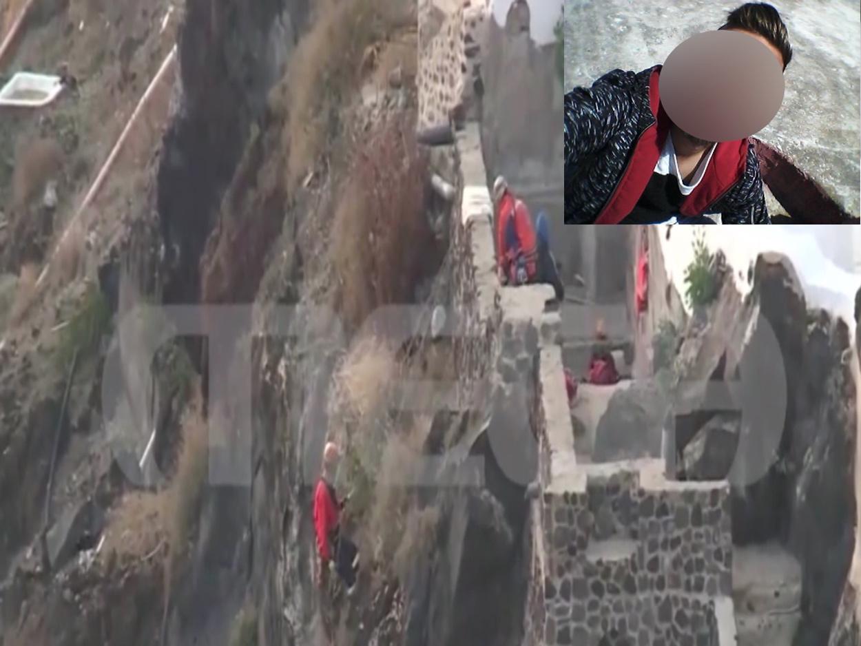 Σαντορίνη: Εικόνες που κόβουν την ανάσα! Έτσι βρέθηκαν τα «όπλα» της δολοφονίας του ξενοδόχου (video)